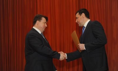 Дмитрий Миронов поздравил работников сферы ЖКХ с профессиональным праздником