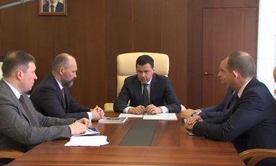 Дмитрий Миронов выслушал отчет главы Переславля-Залесского
