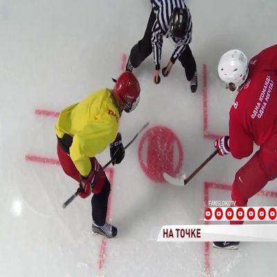 Артем Анисимов провел занятие для хоккеистов «Локо»