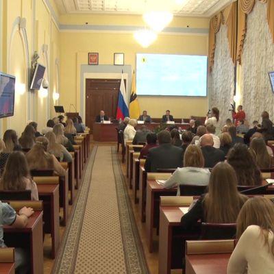 Студенты приняли участие в публичных слушаниях бюджета области на три года