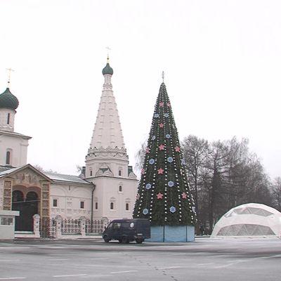 Главный каток Ярославской области готовится к открытию