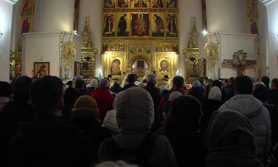 Рождественскую службу в Успенском соборе провели сразу два митрополита