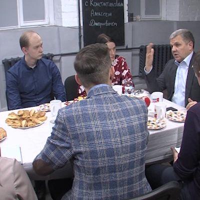 Председатель Ярославской облдумы встретился с активными студентами