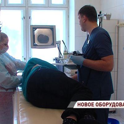 В областную детскую больницу поступила новая эндоскопическая аппаратура