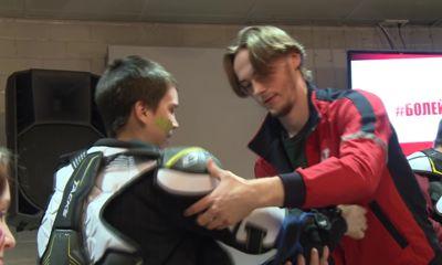 В «Арене 2000» прошло пятое благотворительное мероприятие для особенных детей «Болей за Хоккей»