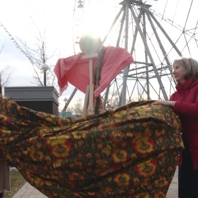 К Масленице Ярославскую область украсят пятиметровые авторские куклы