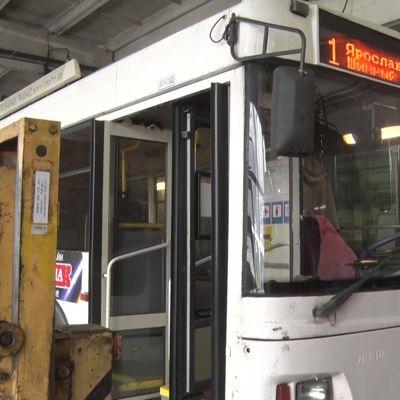 Ярославские троллейбусы №1, №7 и №8 перебрались в депо на улице Гагарина