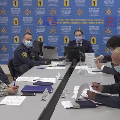На заседании комиссии по ЧС обсудили зимний и весенний паводки, произошедшие в Ярославской области
