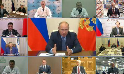 Владимир Путин оценил практику по переориентации производства на коронавирусные нужды