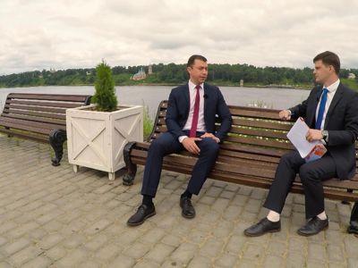 Дмитрий Юнусов рассказал о благоустройстве Тутаевского района