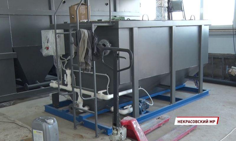 В поселке Красный Профинтерн завершается реконструкция канализационных сетей