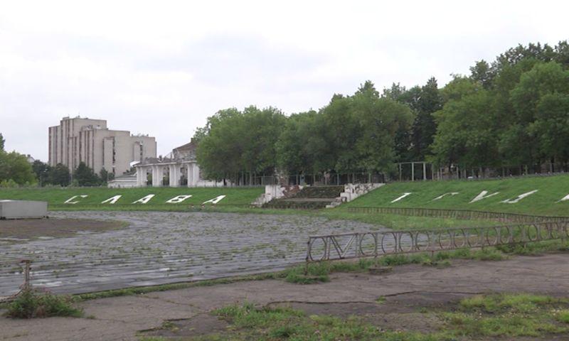 В Рыбинске продолжается реконструкция стадиона «Сатурн»