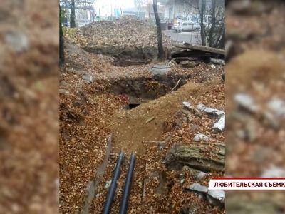 В Ярославле не закопали отремонтированные трубы