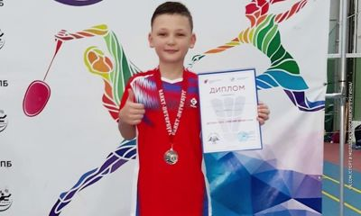 Юный ярославский бадминтонист стал призёром всероссийских соревнований