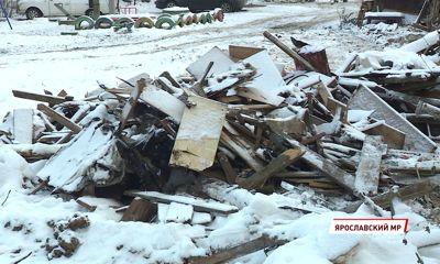 В Кузнечихе ликвидировали несанкционированную свалку