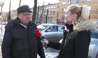 Ярославцы исполнили «Синий платочек»