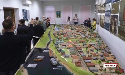 Спустя ровно 80 лет: в Рыбинске представили макет затопленной Мологи