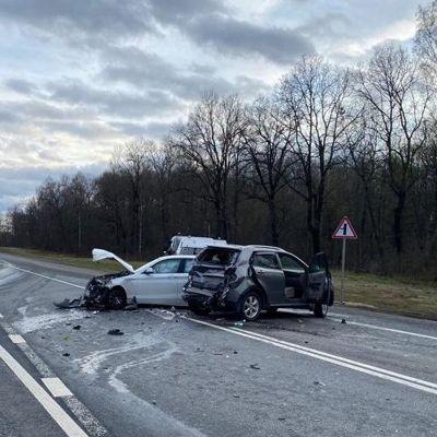 В массовой аварии в Ярославской области пострадали два человека