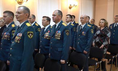 В День пожарной охраны в Ярославле наградили спасателей и всех причастных к празднику