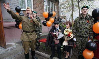 Ярославский ветеран Сергей Фураев отметил 105-летний юбилей
