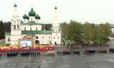 Парад военной техники и интерактивная выставка: как в Ярославле отметили 9 Мая
