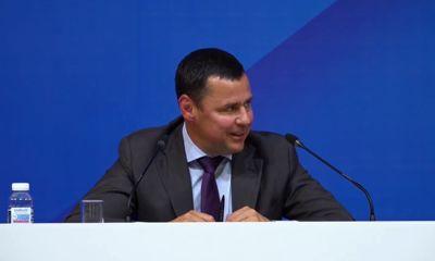 Главное политическое событие дня: пресс-конференция губернатора Ярославской области Дмитрия Миронова