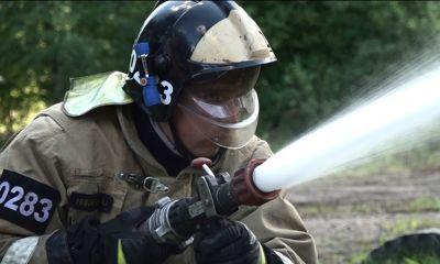 В Ярославле состоялся пожарный биатлон