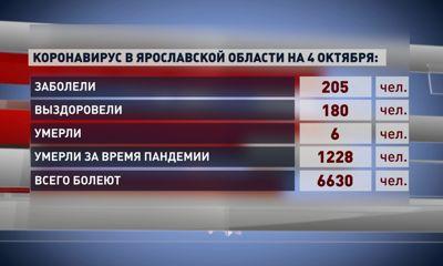 Всего с начала периода пандемии от инфекции умерли 1228 жителей Ярославской области