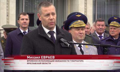Михаил Евраев принял участие в торжествах по случаю юбилея высшего военного училища ПВО