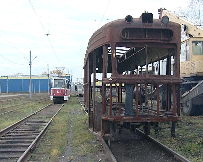 Трамвай 1956 года станет памятником