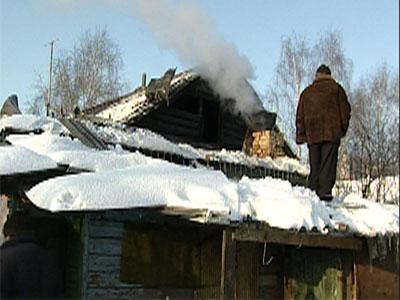 Пожар на Ростовской улице