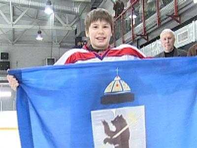 Флаг для хоккеистов