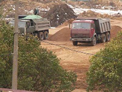 Уголовное дело по факту незаконной добычи песка