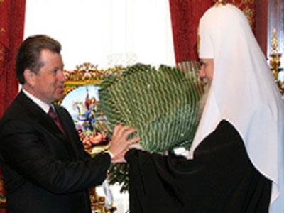 Сергей Вахруков встретился с Алексием II