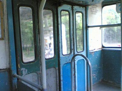 Загорелся троллейбус 5-го маршрута