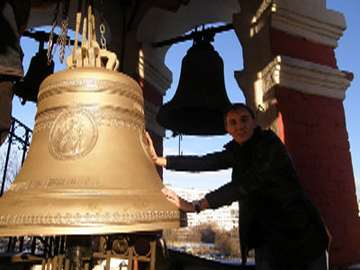 Освятили колокола