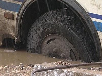 Машины уходят под землю