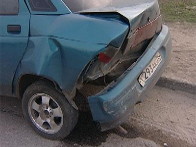 Автомобиль скрылся с места происшествия
