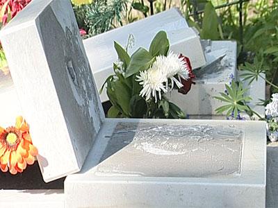 Погром на Леонтьевском кладбище