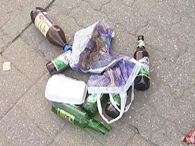 Пьяный с площади Богоявления