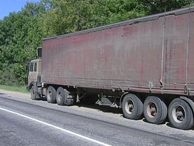 Смерть под колесами грузовика