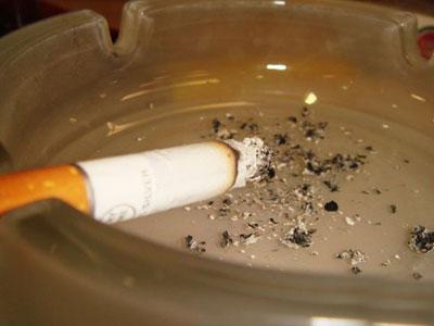 Смерть из-за непотушенной сигареты