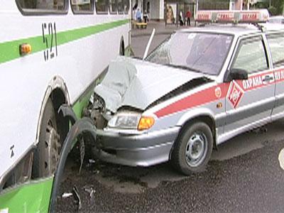 Авария на Юбилейной площади