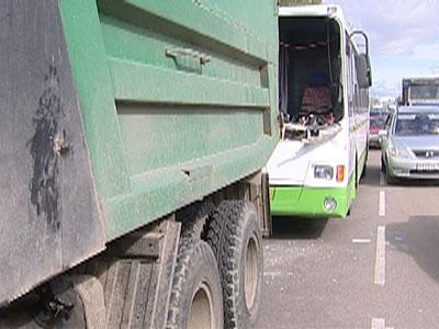 Авария на проспекте Октября