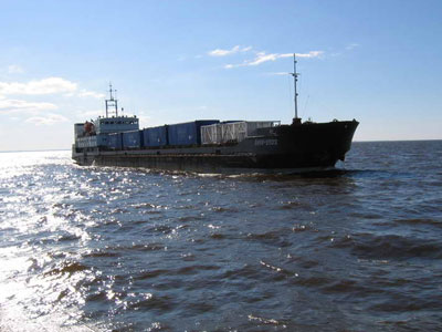 ЧП в Рыбинском море