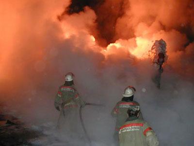 Пожар в поселке Творогово Видео