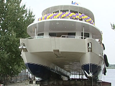 Яхта для миллионера