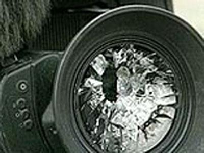 Нападение на съемочную группу НТМ Видео