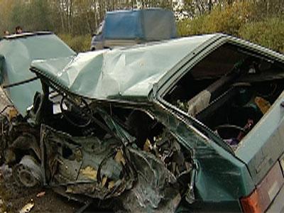 Водитель «восьмерки» умер