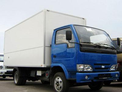 «Взбесившийся» грузовик Видео